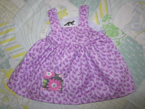 Baby Bunny Dress (3mo)