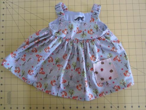 Gift Fox Woods Baby Dress (4mo)