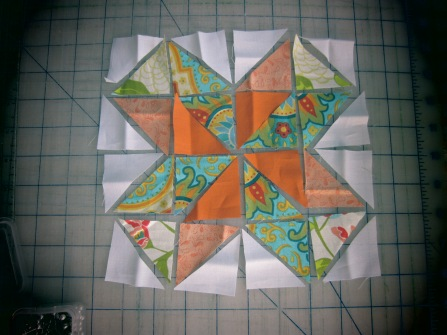 Pinwheel Star Block