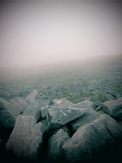 Dun Aengus in the mist