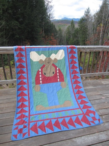 Mt Chocorua & Grammy's Moose Quilt