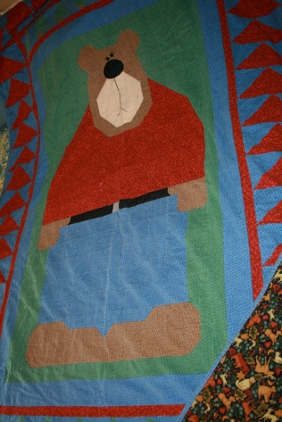 Grammy's Bear Quilt