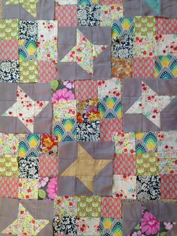 star, quilt, sister, purple, pink, flowers, fabric