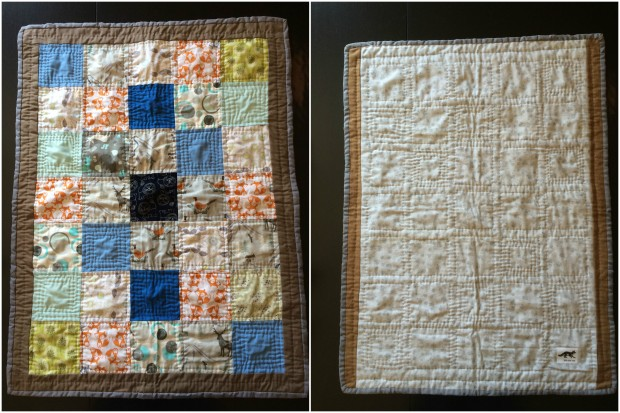 GIFT FOX QUILTS - WOODSY BABY QUILT 2