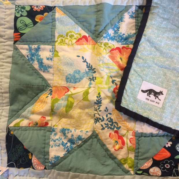 Star Queen Quilt - Gift Fox Quilts 2017