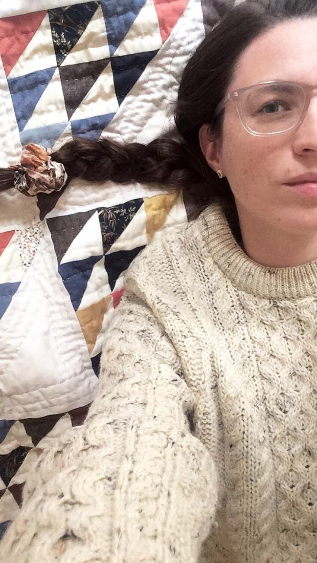 Portrait of Jess Feldman, The Gift Fox - Gift Fox Quilts