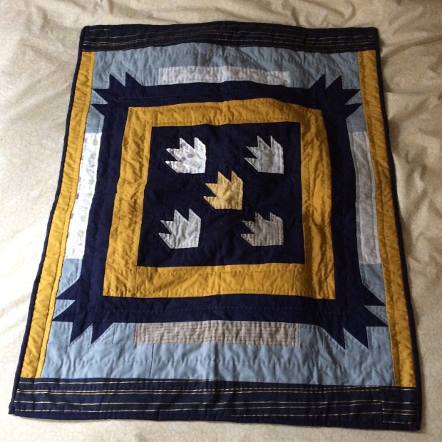 Gift Fox Quilts - Dragon Claw Baby Quilt