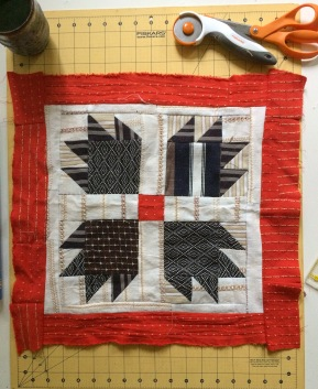Gift Fox Quilts 2018 - Ace + Jig Community Quilt