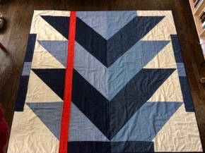 The Denim Queen Quilt - Gift Fox Quilts